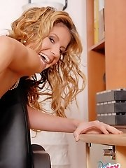Candie - A Submissive Secretary Always Gets Hired